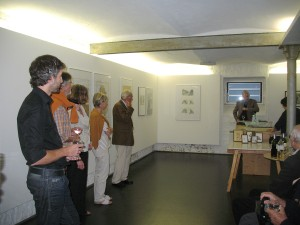 Vernissage der Illustrationsausstellung